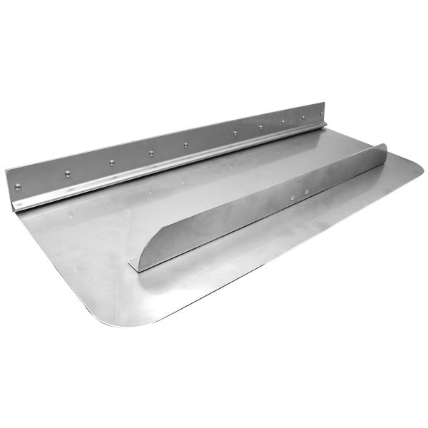 "Trim Plane Assembly, 30"" x 12"" Standard, Fits Boats: 25' - 31', Boat Type: Single I/O or OB (for extra lift)"
