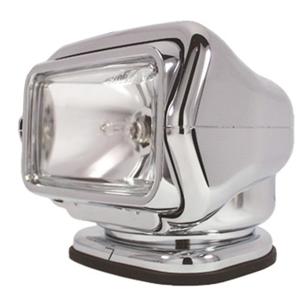 Stryker™ Halogen Searchlight with Wireless Dash Mount Remote, Chrome