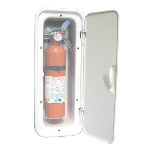 Covered Fire Extinguisher Box