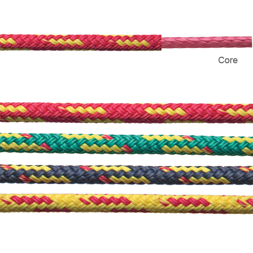 Flight Line Polypropylene Double Braid, Sold by the Foot