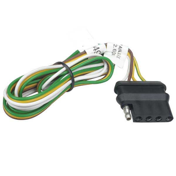 Trailer Light Connector - 5-Pin Flat Vehicle Connector