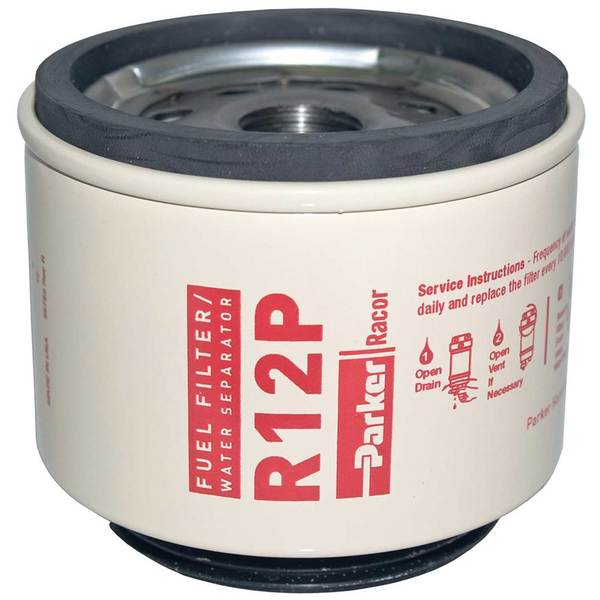 R12P Spin-On Fuel Filter/Water Separator Replacement Cartridge Filter