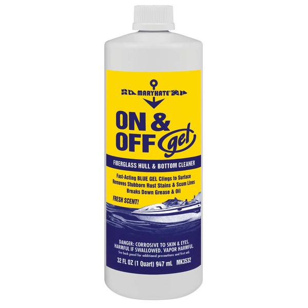 On and Off GEL Hull/Bottom Cleaner