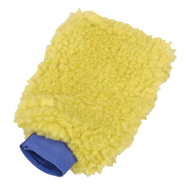 Synthetic Wool Wash Mitt