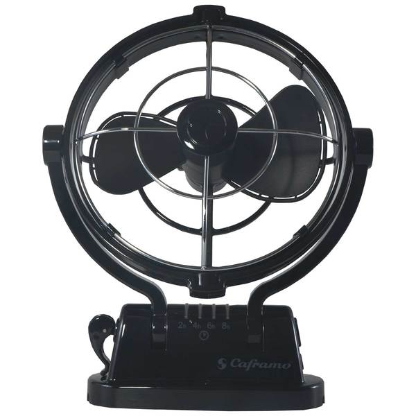 Large 12 Volt Fan : Caframo sirocco v cabin fan black west marine