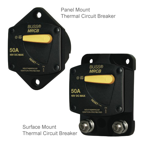 187 Series Thermal Circuit Breakers - Surface Mount