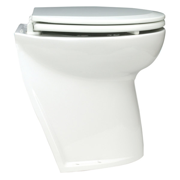 Deluxe Flush Electric Toilet, Freshwater Rinse