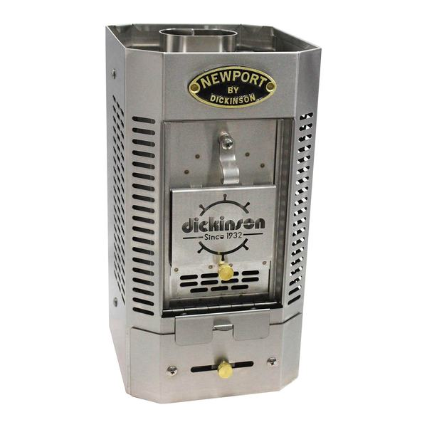 Dickinson Stainless Solid Fuel Heater