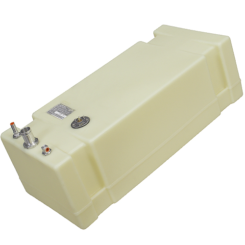"27 Gallon Permanent Below Deck Fuel Tank, 36.5""L x 16""W x 11.75""H"