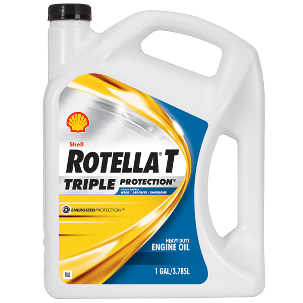 Shell rotella t sae 15w 40 engine oil 1 gallon west marine for Gallon of motor oil price