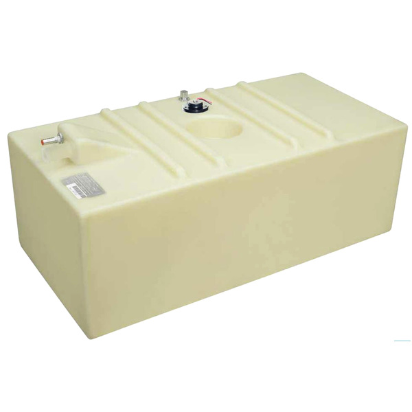 "58 Gallon Permanent Below Deck Fuel Tank, 44""L x 21.5""W x 16.25""H"
