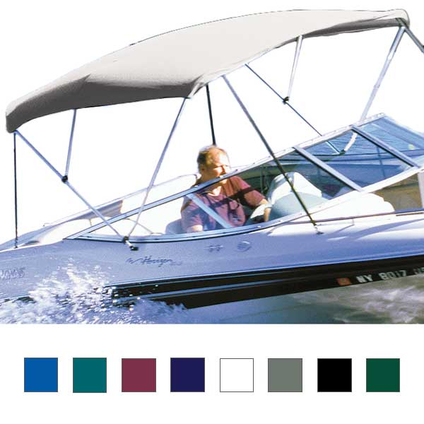 "Hot Shot Bimini BoaTop, 6' x 36"" x 60""-66"" (Top Only)"