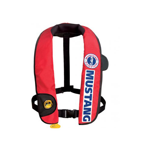 Mustang survival inflatable competition fishing life vest for Inflatable fishing vest