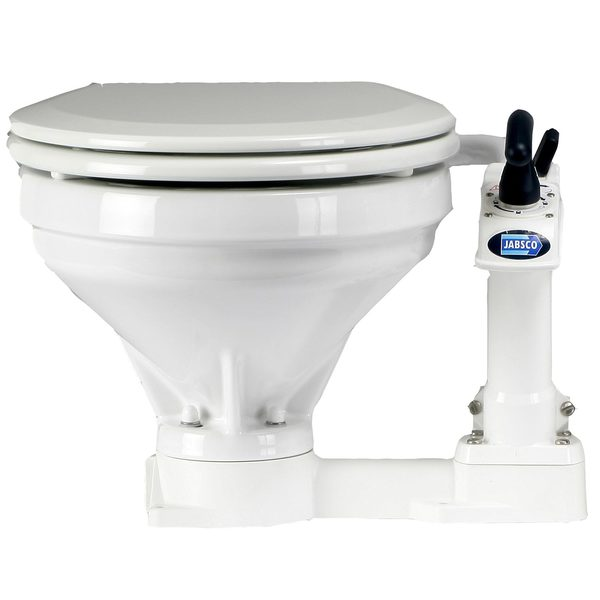 Twist 'n' Lock Compact Toilet