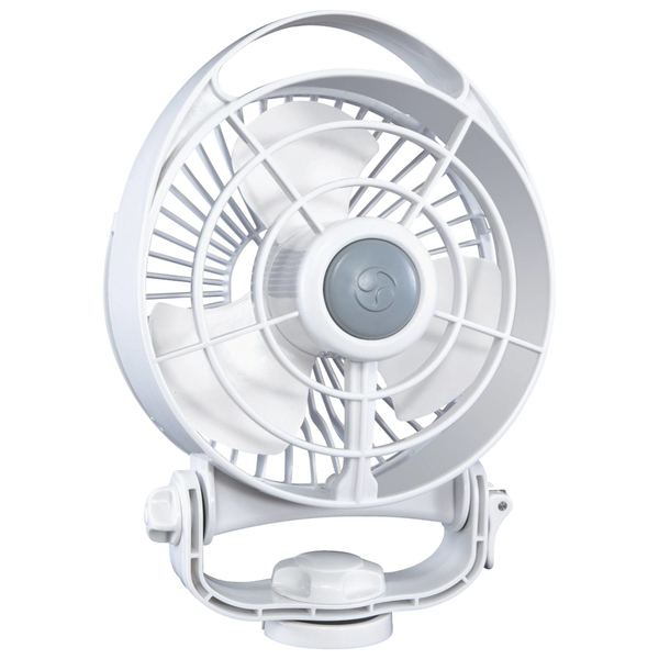 Bora 3-Speed 12V Fan, White