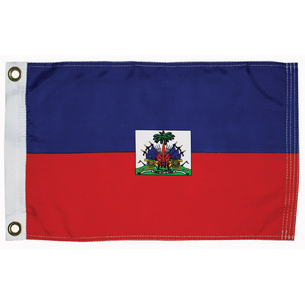 "Haiti Civil Courtesy Flag, 12"" x 18"""