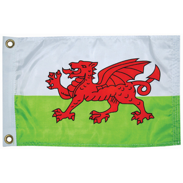 "Wales Courtesy Flag, 12"" x 18"""