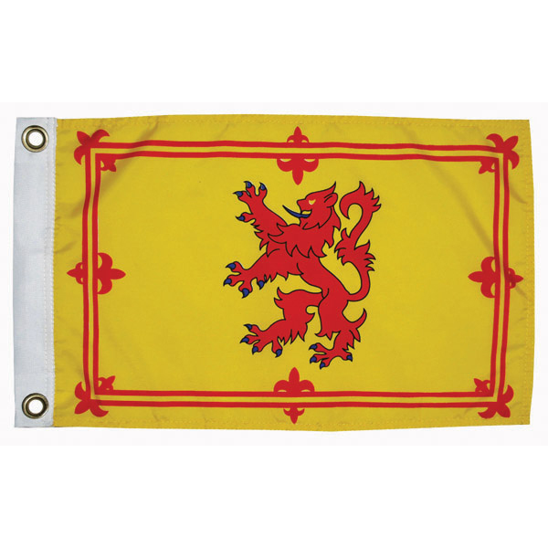 "Scottish Ramp Courtesy Flag, 12"" x 18"""
