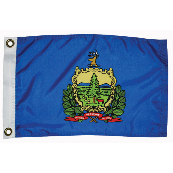 "Vermont State Flag, 12"" x 18"""