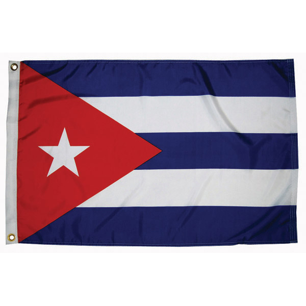 Cuba Courtesy Flags