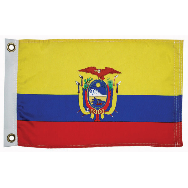 Ecuador Courtesy Flag