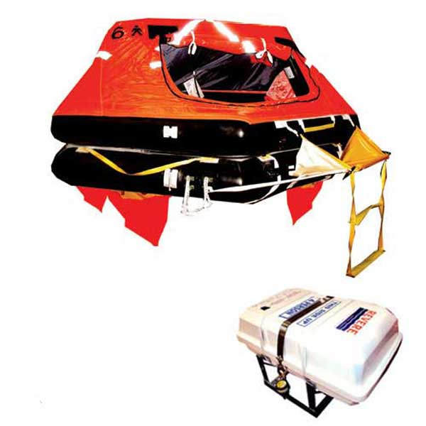 Survival Technologies SeaMaster 4-Person Life Raft Container