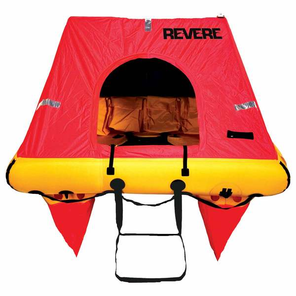 Coastal Elite 8-Person Life Raft Canister