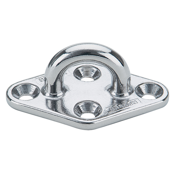 Diamond-Base Stainless-Steel Padeyes