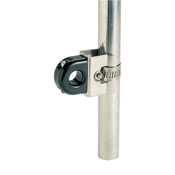 Stanchion-Mounted Bull's-Eye Fairleads