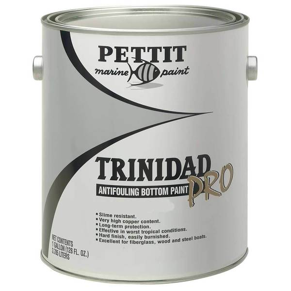 Trinidad Pro Antifouling Bottom Paint with Irgarol, Gallon