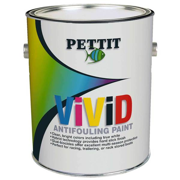 ViViD Bright Colored Hybrid Antifouling Paint