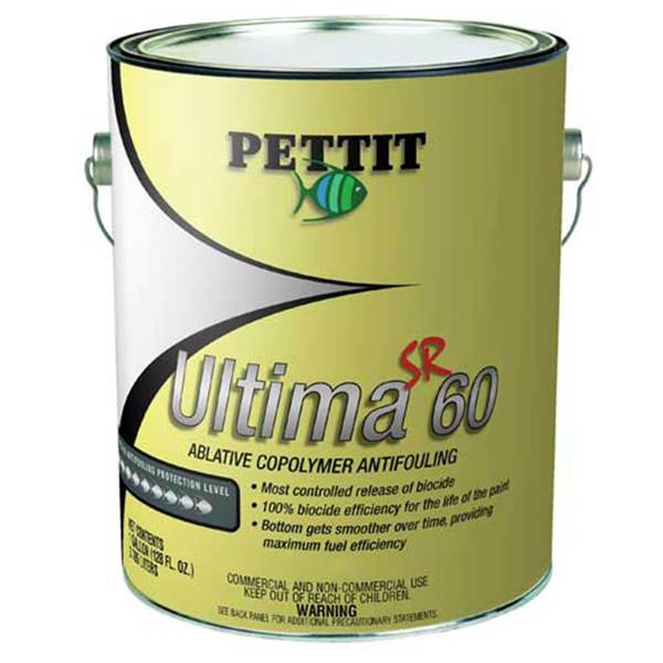 Ultima SR 60 Antifouling Paint with Irgarol, Gallon