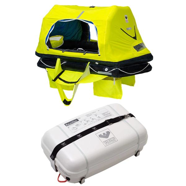 RescYou™ Pro ISO 9650-1/ISAF Life Raft with Canister