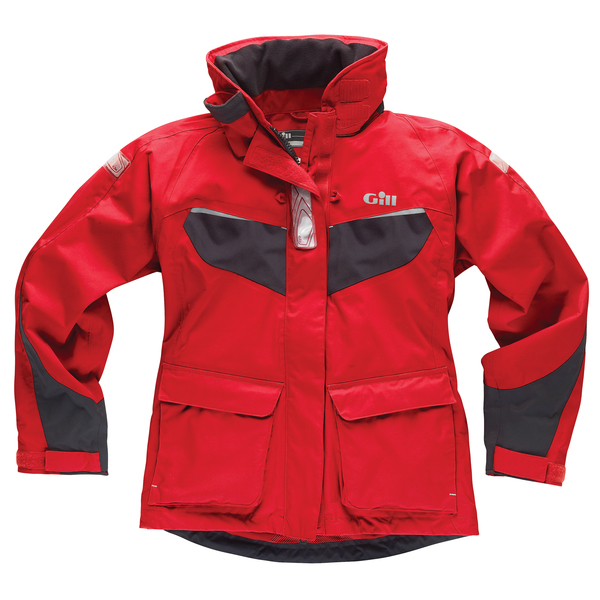 Gill Women's IN12 Coast Jacket Red/graphite