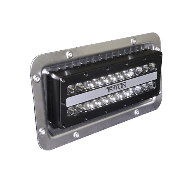 Lumitec lighting triton led flood lights recessed mount west marine triton led flood lights recessed mount aloadofball Images