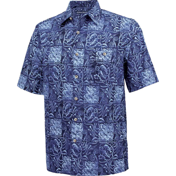 West marine men 39 s batik fish shirt west marine for West marine fishing shirts