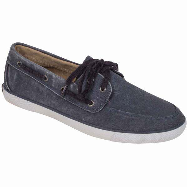Sperry Men's Lighthouse Canvas Shoes Navy
