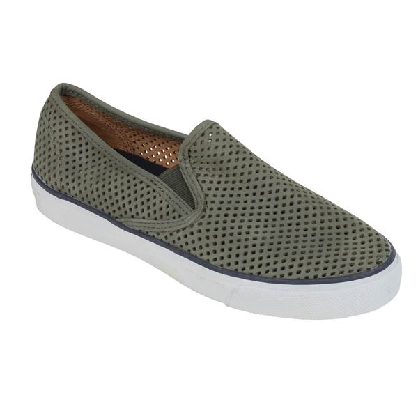 c6657a0eb3a SPERRY Women s Seaside Perforated Slip-On Shoes