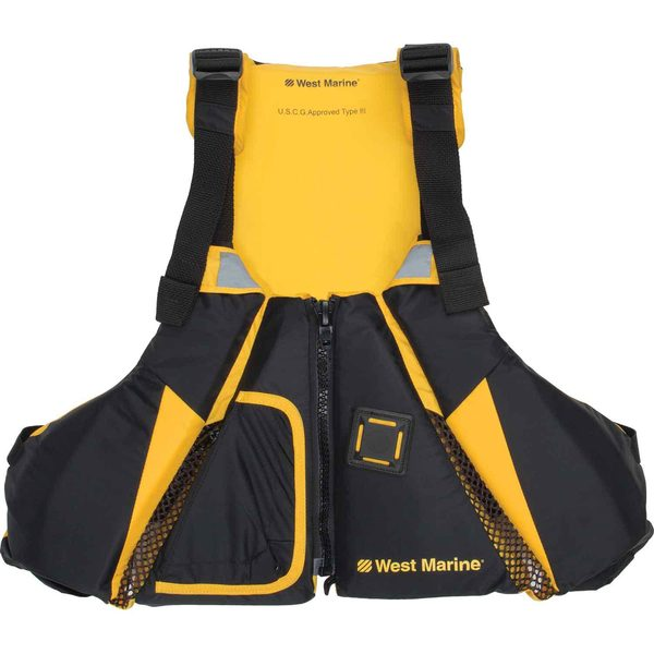 Dynamic Move Paddle Sports Life Jackets, Yellow/Black
