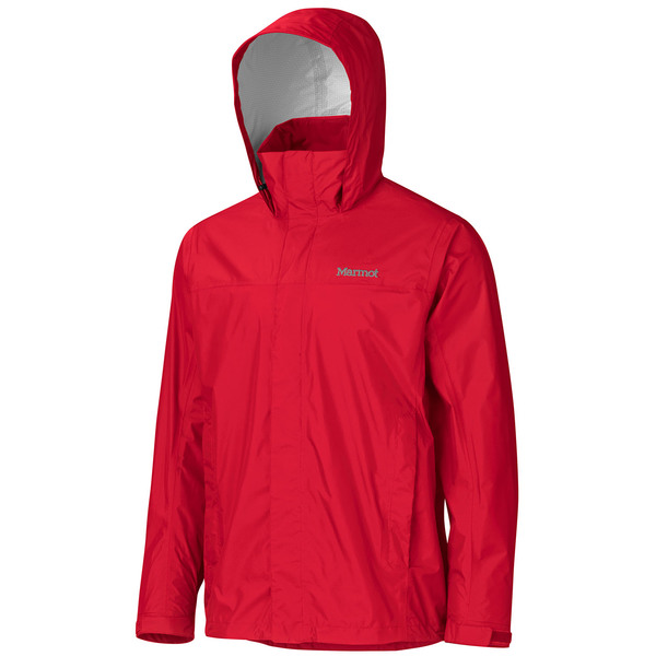 Click here for Marmot Mens Precip Jacket Team Red prices