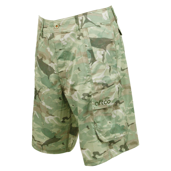Aftco men 39 s tactical fishing shorts west marine for West marine fishing shirts