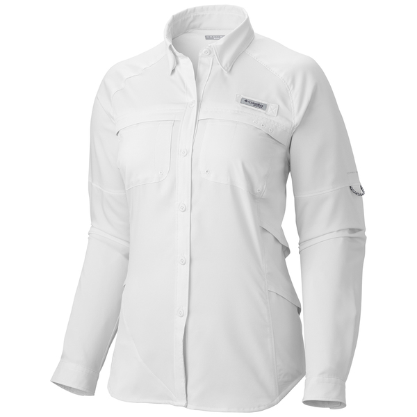 Columbia women 39 s pfg airgal shirt west marine for Columbia shirts womens pfg