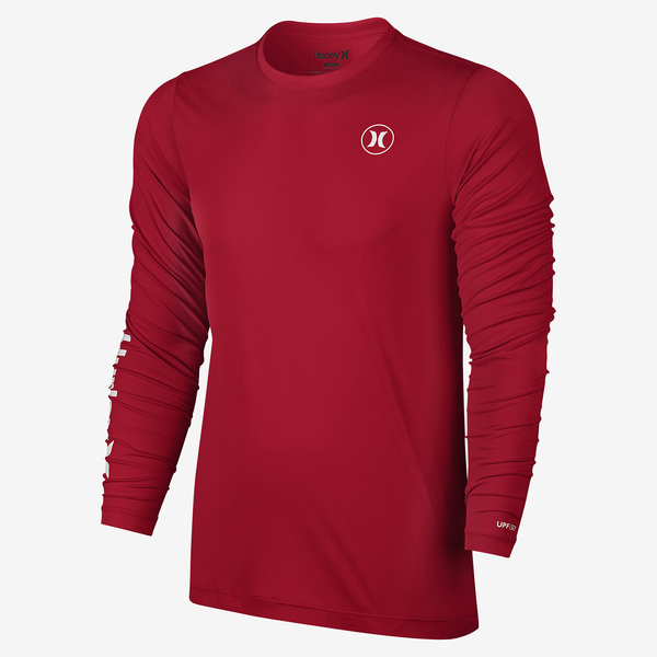 Hurley men 39 s dri fit icon long sleeve surf shirt west marine for West marine fishing shirts