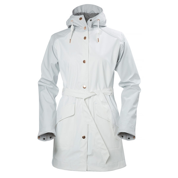 Click here for Helly Hansen Womens  Kirkwall Rain Coat White - Si... prices