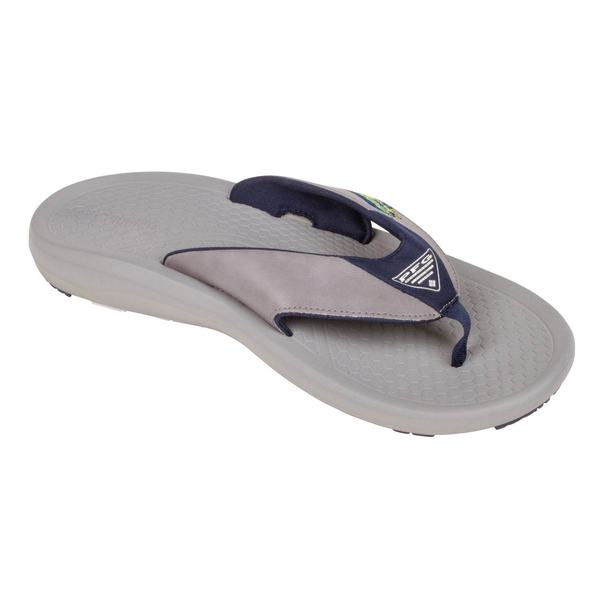c67103401ce Columbia Men s Fish Flip PFG Flip-Flop Sandals Gray - Size - 13