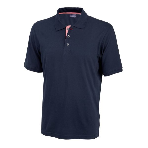Click here for Columbia Mens Harborside Polo Shirt Blue - Size -... prices