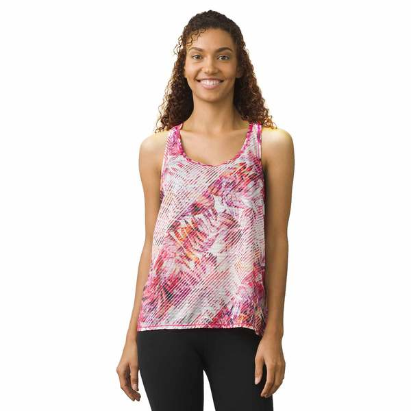 Click here for Prana Womens Breezie Active Tank Top Cosmo Pink Pa... prices