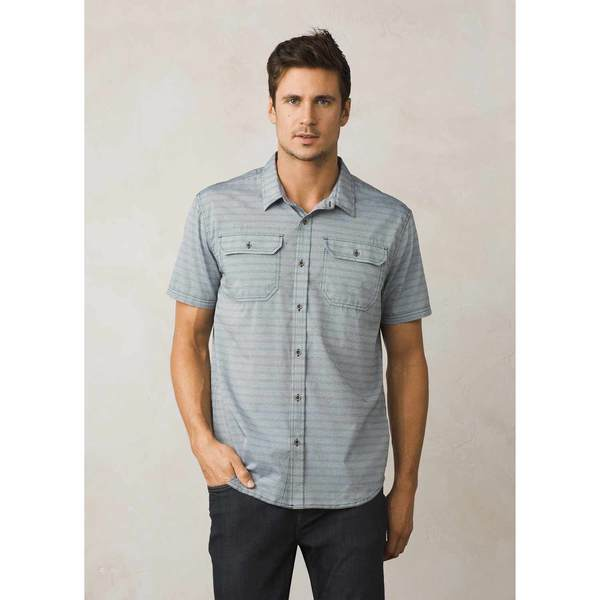 Click here for Prana Mens Cayman Shirt Black - Size - Small prices