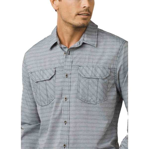 Click here for Prana Mens Citadel Shirt Black - Size - Small prices
