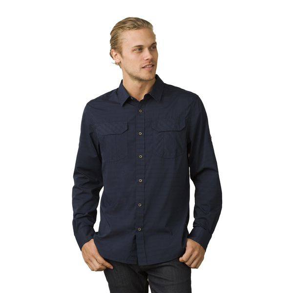 Click here for Prana Mens Citadel Shirt Blue - Size - XL prices